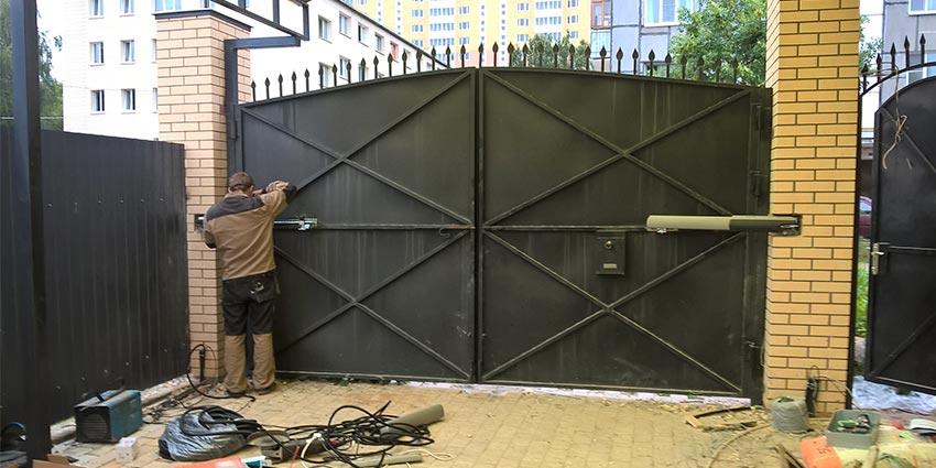 комплектующие к воротам